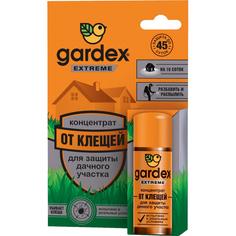 Концентрат Gardex Extreme для защиты дачного участка от клещей 50 мл
