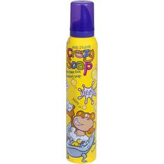 Мусс-пена Kids Stuff для детских забав и купания в ванной белая 225 мл