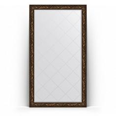 Зеркало EVOFORM напольное с гравировкой в багетной раме 9.9 см 114х203 см