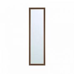 Зеркало в раме Gallery 30х120 см дуб шамони темный