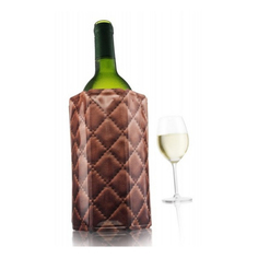 Рубашка охладительная для вина кожа Vacu vin