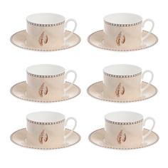Набор чайный Hankook Беж Физер 6 предметов