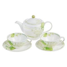 Набор чайный Hankook Гераниум 5 предметов