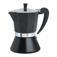Кофеварка гейзерная Winner черная 400 мл