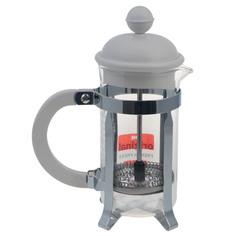 Кофейник с прессом Bodum caffettiera 0.35л белый