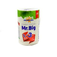 Бумажные полотенца Мягкий знак Mr Big 1 рулон