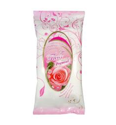 Влажные салфетки Premial La Fleur Роза 15 шт