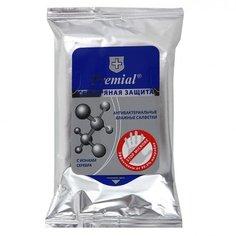 Влажные салфетки Premial Серебряная защита 15 шт