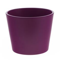 Кашпо Soendgen Dallas d7 матовый фиолетовый