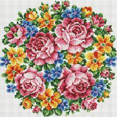 Алмазная мозаика Белоснежка Букет Большое счастье