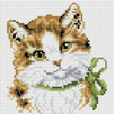 Алмазная мозаика Белоснежка Кошка Алиса
