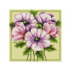 Алмазная мозаика Белоснежка Чудесные цветы