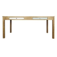 Стол обеденный темный Этажерка Aquarelle Birch RE-21ETG/4