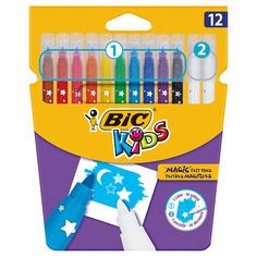 Цветные фломастеры BIC Magic Felt Pens 12 цветов