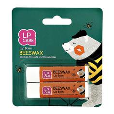 Бальзам для губ LP CARE Пчелиный воск 3 г 2 шт