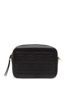 Черная сумка с монограммами Fendi