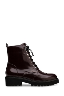 Коричневые ботинки на шнуровке Portal