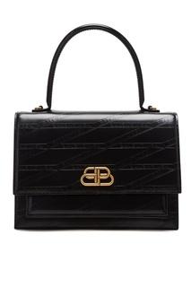 Черная сумка Sharp M Balenciaga