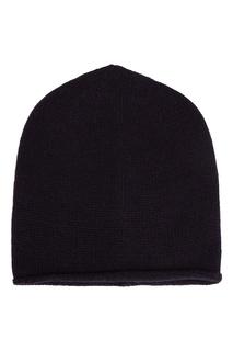 Темно-синяя шапка-бини Peserico