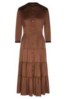 Шелковое платье-рубашка Yana Dress