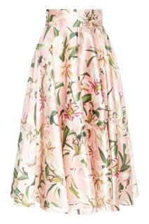 Расклешенная юбка-миди Dolce&Gabbana