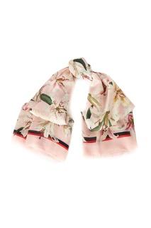 Палантин с цветочным рисунком Dolce&Gabbana