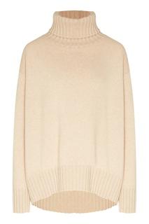 Бежевый свитер с рисунком Yana Dress