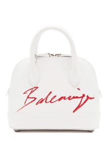 Белая сумка Ville XXS Balenciaga