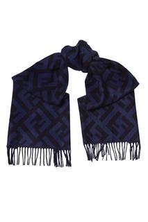Кашемировый шарф с отделкой Fendi