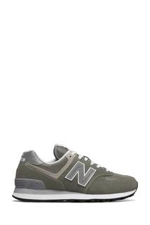 Серо-зеленые кроссовки 574 New Balance