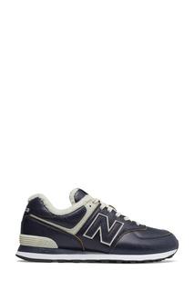 Синие утепленные кроссовки 574 New Balance