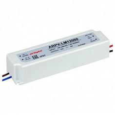 Блок питания 12В 60Вт ARPV-LV12060-A (12V, 5.0A, 60W) Arlight