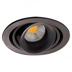 Встраиваемый светильник DL18615/01WW-R Shiny black/Black Donolux