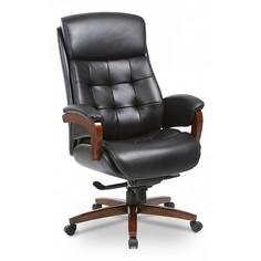 Кресло для руководителя Mega/BLACK Бюрократ
