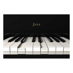 Картина (90х60 см) Пианино HE-101-899 Ekoramka