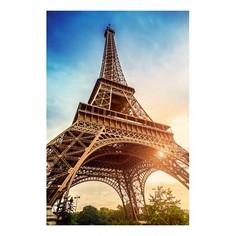 Картина (60х90 см) Эйфелева башня HE-101-681 Ekoramka