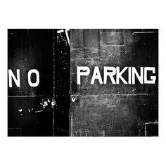 Картина (70х50 см) No parking HE-101-837 Ekoramka