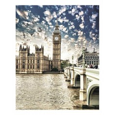 Картина (40х50 см) Лондон SE-102-126 Ekoramka