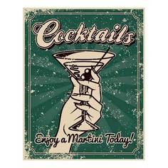 Картина (30х40 см) Cocktails HE-101-411 Ekoramka