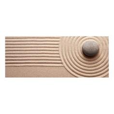 Картина (50х20 см) Камень на песке HE-101-541 Ekoramka