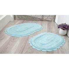Набор из 2 ковриков для ванной LOKAL Karna