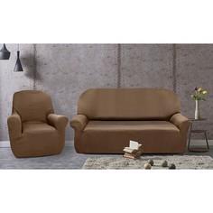 Чехол для диванов Набор чехлов для дивана и кресел РУСТИКА Belmarti