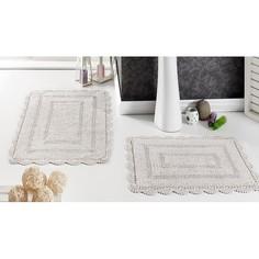 Набор из 2 ковриков для ванной EVORA Karna