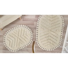 Набор из 2 ковриков для ванной CROSS Karna