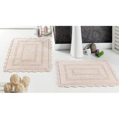 Коврик для ванной Набор из 2 ковриков для ванной EVORA Karna