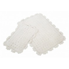 Набор из 2 ковриков для ванной (NONE) Mina Irya