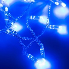 Гирлянда нить [10 м] String ARD-STRING-CLASSIC-10000-CLEAR-100LED-STD BLUE (230V, 7W) Arlight