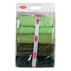 Банное полотенце Набор из 4 банных полотенец RAINBOW Hobby Home Collection