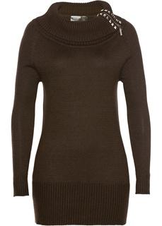 Водолазки Длинный пуловер Bonprix