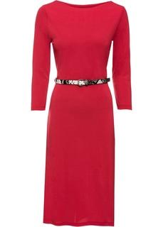 Платья с длинным рукавом Платье-футляр Bonprix